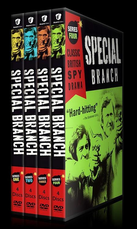 Special Branch (Seasons 1-4) - Custom Dvd Cover Set - English [1969-1974]-0jpg
