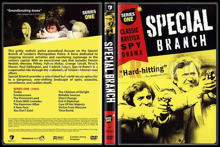 Special Branch (Seasons 1-4) - Custom Dvd Cover Set - English [1969-1974]-1jpg