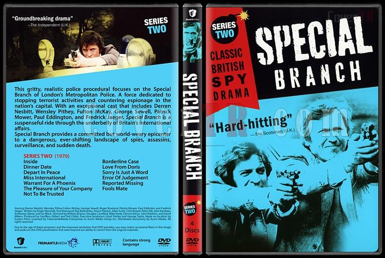 Special Branch (Seasons 1-4) - Custom Dvd Cover Set - English [1969-1974]-2jpg