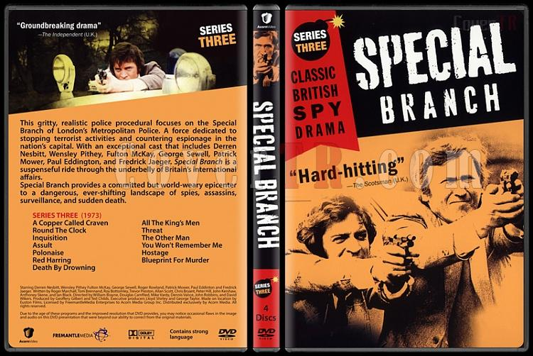 Special Branch (Seasons 1-4) - Custom Dvd Cover Set - English [1969-1974]-3jpg