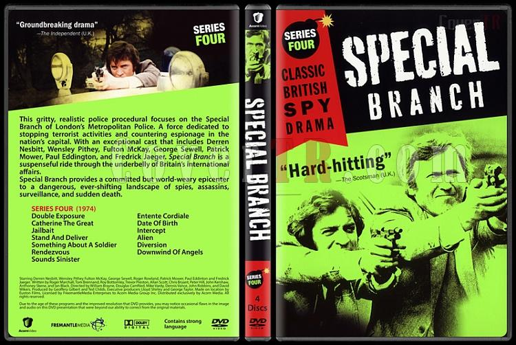 Special Branch (Seasons 1-4) - Custom Dvd Cover Set - English [1969-1974]-4jpg