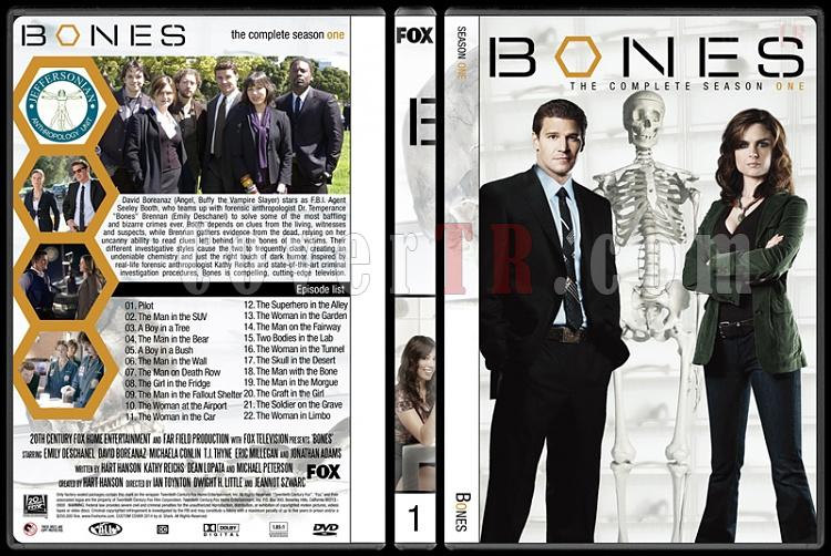 Bones (Seasons 1-9) - Custom Dvd Cover Set - English [2005-?]-1jpg