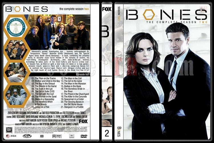 Bones (Seasons 1-9) - Custom Dvd Cover Set - English [2005-?]-2jpg