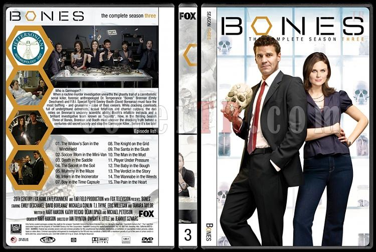 Bones (Seasons 1-9) - Custom Dvd Cover Set - English [2005-?]-3jpg
