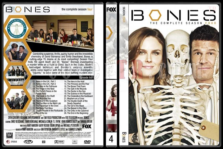 Bones (Seasons 1-9) - Custom Dvd Cover Set - English [2005-?]-4jpg