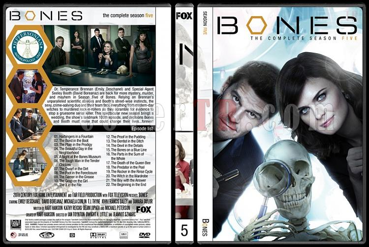 Bones (Seasons 1-9) - Custom Dvd Cover Set - English [2005-?]-5jpg