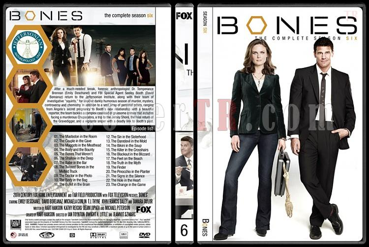 Bones (Seasons 1-9) - Custom Dvd Cover Set - English [2005-?]-6jpg