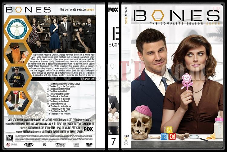 Bones (Seasons 1-9) - Custom Dvd Cover Set - English [2005-?]-7jpg