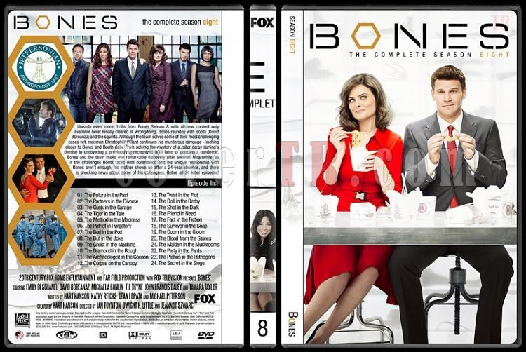 Bones (Seasons 1-9) - Custom Dvd Cover Set - English [2005-?]-8jpg