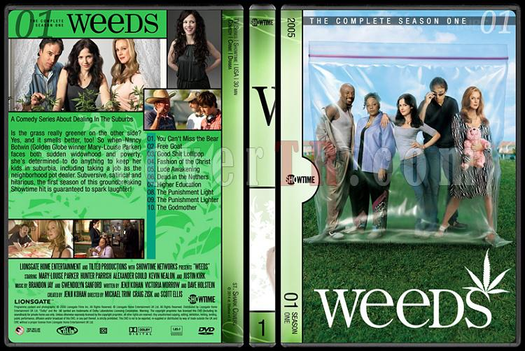 Weeds (Seasons 1-8) - Custom Dvd Cover Set - English [2005-2012]-1jpg