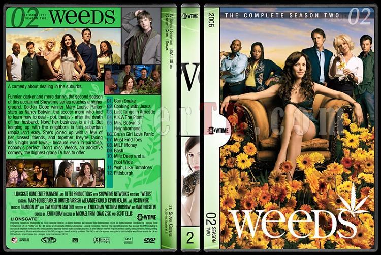 Weeds (Seasons 1-8) - Custom Dvd Cover Set - English [2005-2012]-2jpg