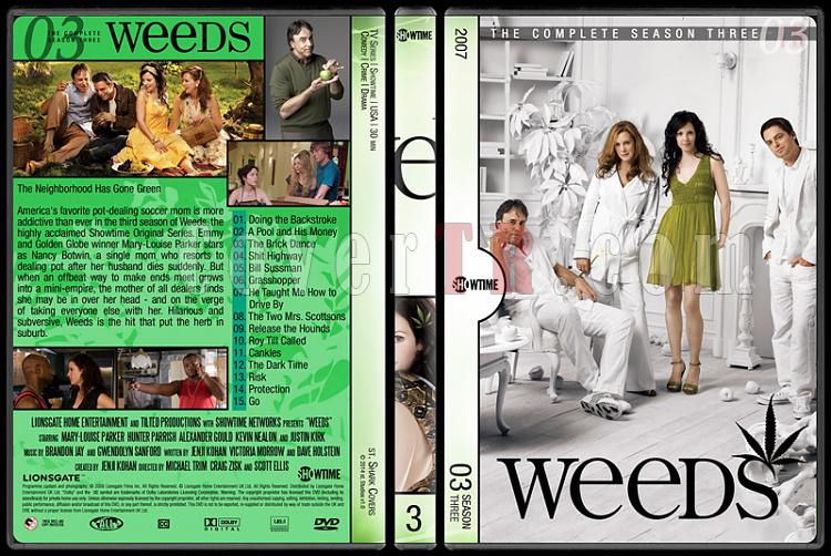 Weeds (Seasons 1-8) - Custom Dvd Cover Set - English [2005-2012]-3jpg