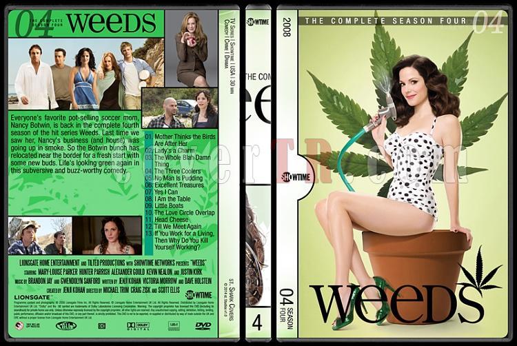 Weeds (Seasons 1-8) - Custom Dvd Cover Set - English [2005-2012]-4jpg