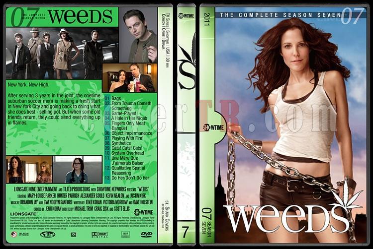 Weeds (Seasons 1-8) - Custom Dvd Cover Set - English [2005-2012]-7jpg