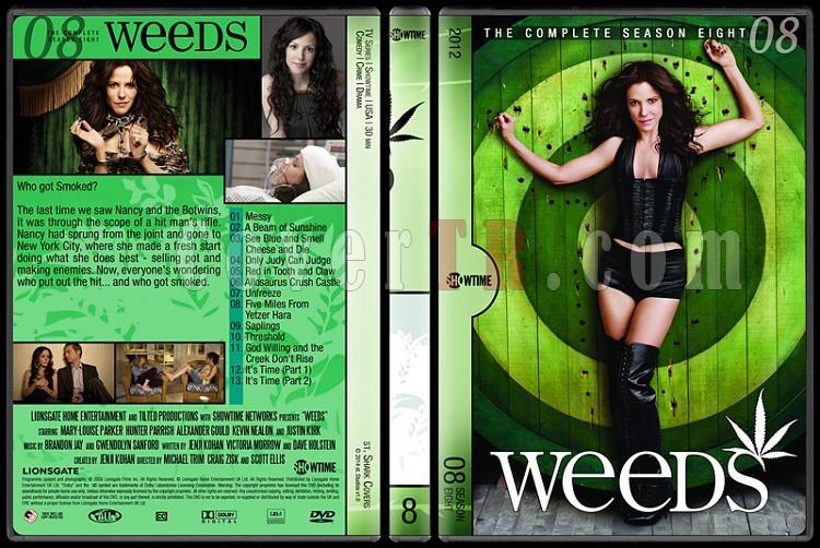 Weeds (Seasons 1-8) - Custom Dvd Cover Set - English [2005-2012]-8jpg