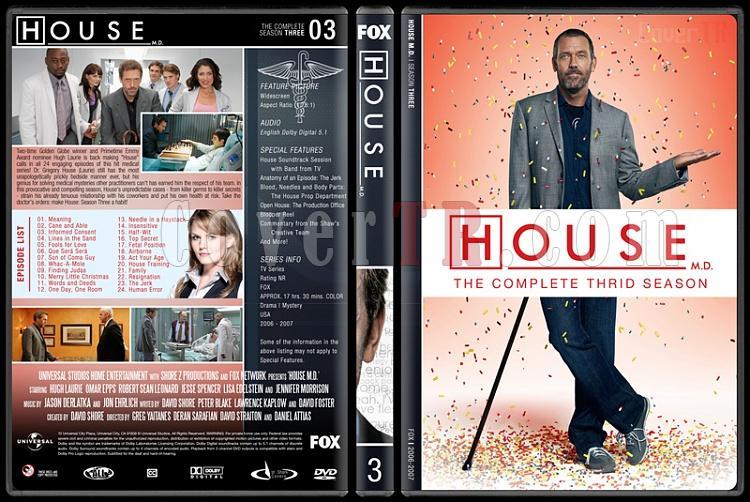 House M.D. (Seasons 1-8) - Custom Dvd Cover Set - English [2004–2012]-3jpg