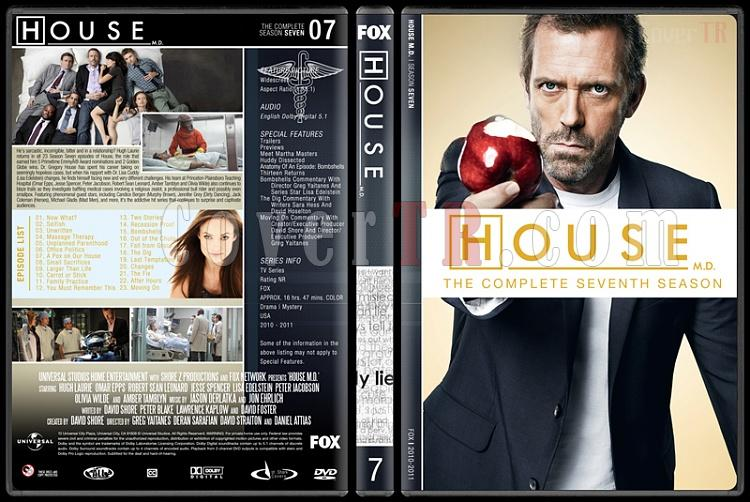 House M.D. (Seasons 1-8) - Custom Dvd Cover Set - English [2004–2012]-7jpg