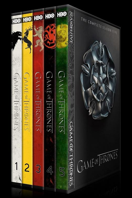 Game of Thrones (Seasons 1-5) - Custom Dvd Cover Set - English [2011-?]-0jpg