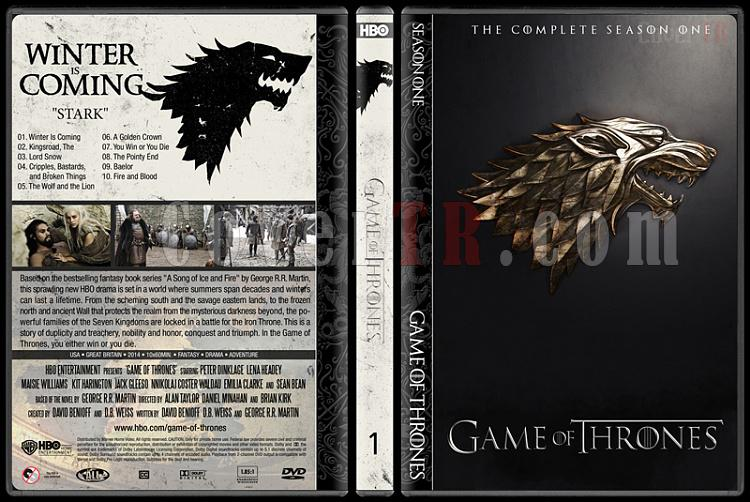 Game of Thrones (Seasons 1-5) - Custom Dvd Cover Set - English [2011-?]-1jpg