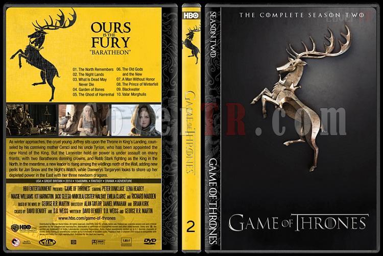 Game of Thrones (Seasons 1-5) - Custom Dvd Cover Set - English [2011-?]-2jpg