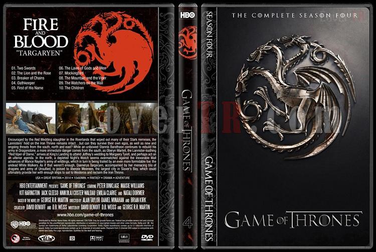 Game of Thrones (Seasons 1-5) - Custom Dvd Cover Set - English [2011-?]-4jpg