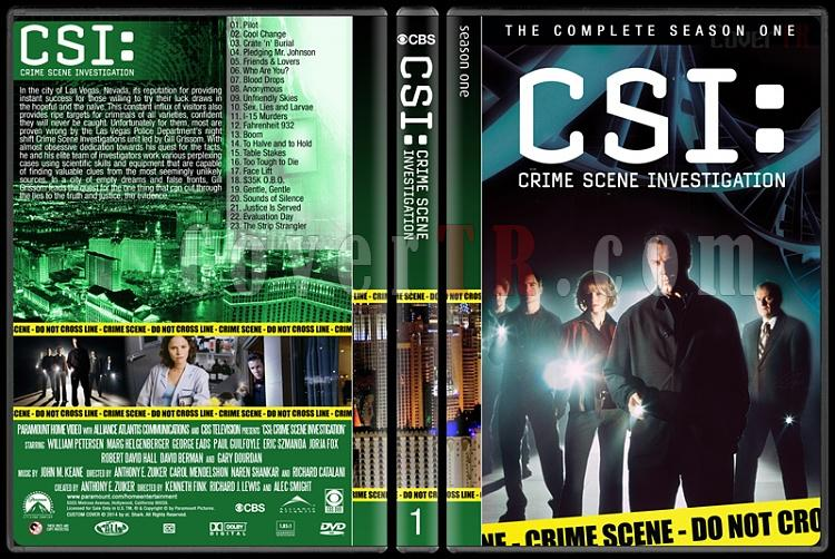 CSI: Crime Scene Investigation (Seasons 1-14) - Custom Dvd Cover Set - English [2000-?]-1jpg