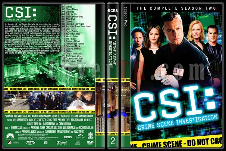 CSI: Crime Scene Investigation (Seasons 1-14) - Custom Dvd Cover Set - English [2000-?]-2jpg