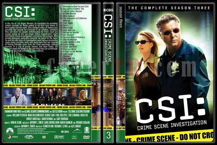 CSI: Crime Scene Investigation (Seasons 1-14) - Custom Dvd Cover Set - English [2000-?]-3jpg