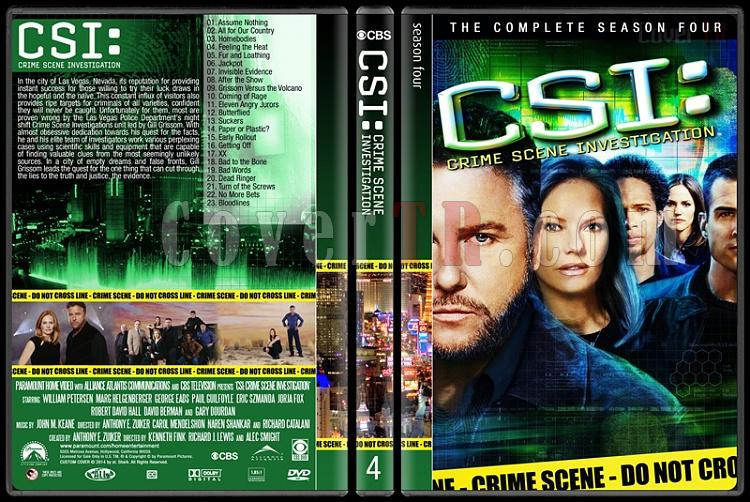 CSI: Crime Scene Investigation (Seasons 1-14) - Custom Dvd Cover Set - English [2000-?]-4jpg