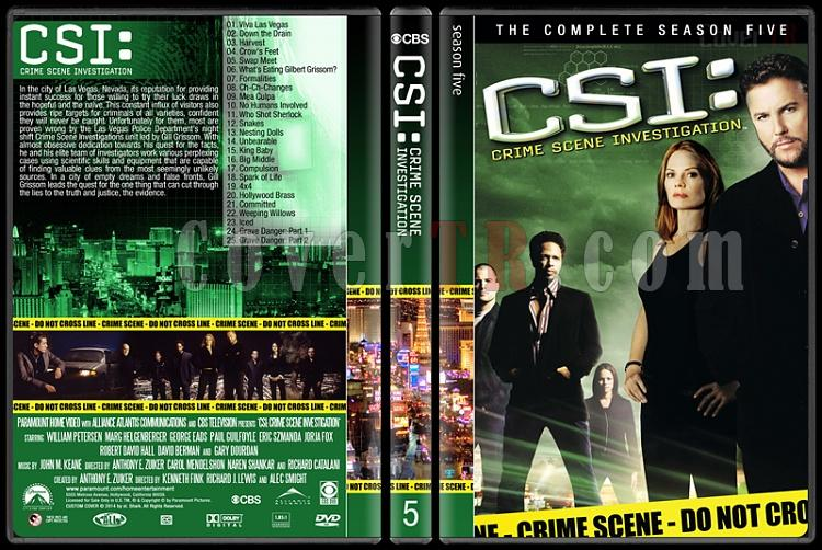 CSI: Crime Scene Investigation (Seasons 1-14) - Custom Dvd Cover Set - English [2000-?]-5jpg