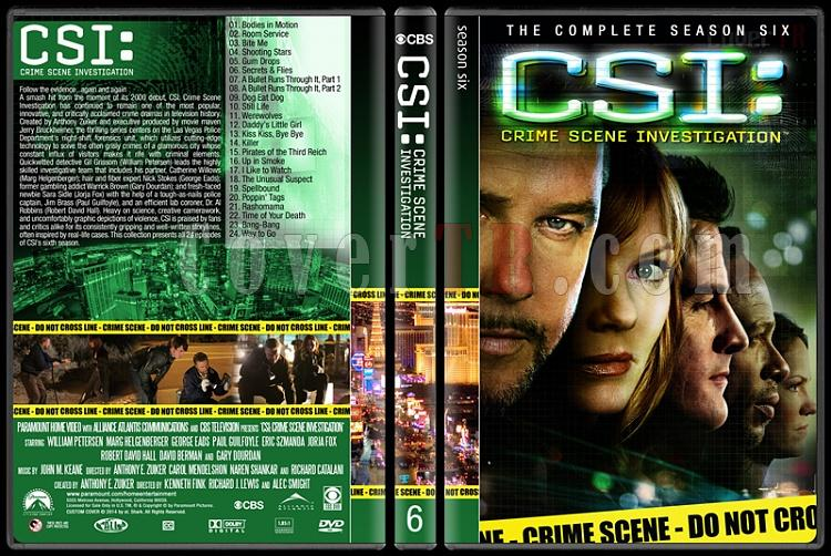 CSI: Crime Scene Investigation (Seasons 1-14) - Custom Dvd Cover Set - English [2000-?]-6jpg