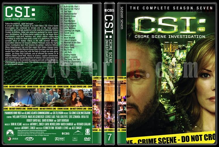 CSI: Crime Scene Investigation (Seasons 1-14) - Custom Dvd Cover Set - English [2000-?]-7jpg