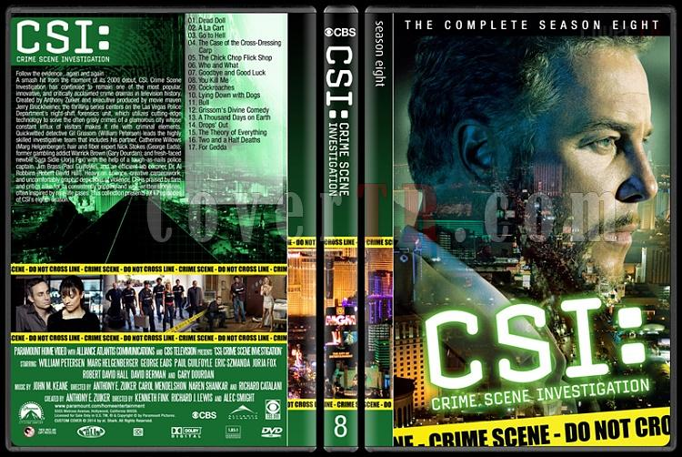 CSI: Crime Scene Investigation (Seasons 1-14) - Custom Dvd Cover Set - English [2000-?]-8jpg