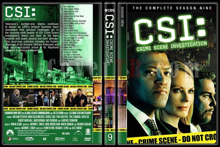 CSI: Crime Scene Investigation (Seasons 1-14) - Custom Dvd Cover Set - English [2000-?]-9jpg