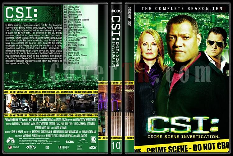CSI: Crime Scene Investigation (Seasons 1-14) - Custom Dvd Cover Set - English [2000-?]-10jpg