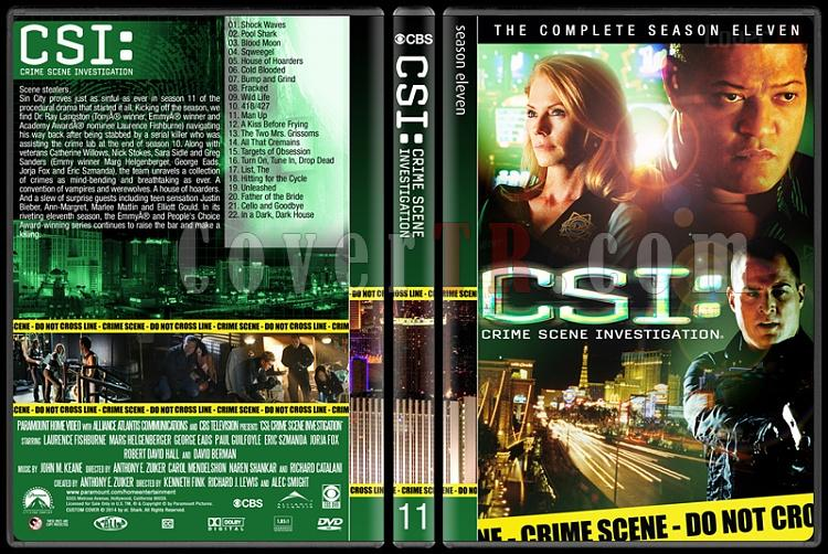 CSI: Crime Scene Investigation (Seasons 1-14) - Custom Dvd Cover Set - English [2000-?]-11jpg
