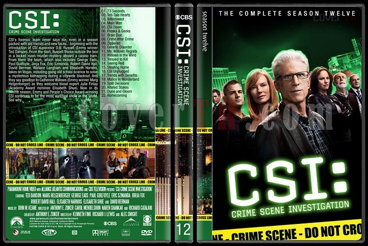 CSI: Crime Scene Investigation (Seasons 1-14) - Custom Dvd Cover Set - English [2000-?]-12jpg