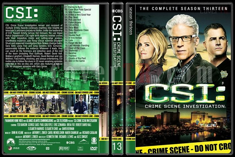 CSI: Crime Scene Investigation (Seasons 1-14) - Custom Dvd Cover Set - English [2000-?]-13jpg