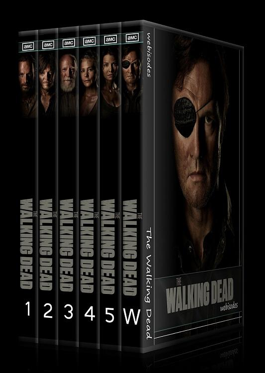 The Walking Dead (Seasons 1-5) - Custom Dvd Cover Set - English [2010-?]-0jpg
