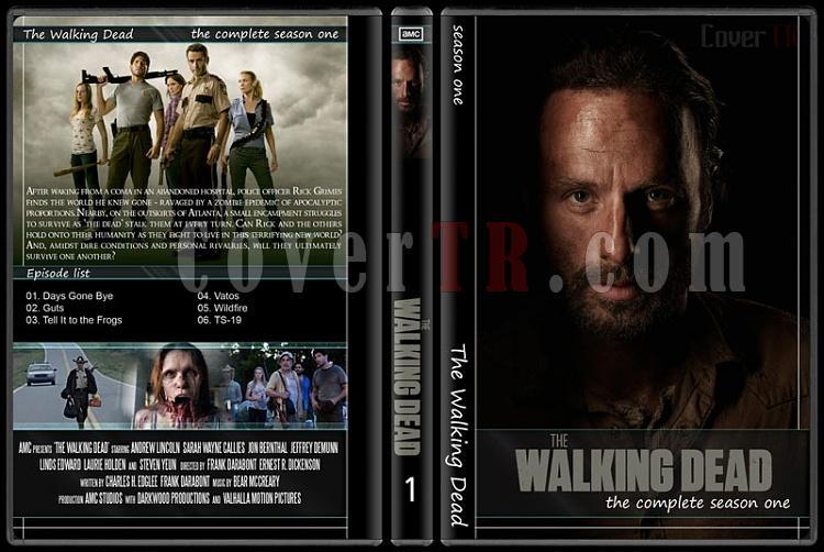 The Walking Dead (Seasons 1-5) - Custom Dvd Cover Set - English [2010-?]-1jpg