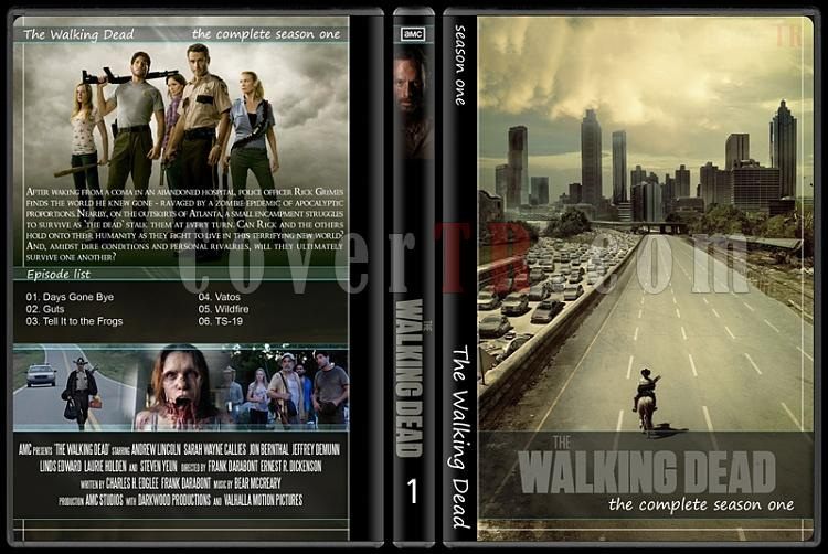 The Walking Dead (Seasons 1-5) - Custom Dvd Cover Set - English [2010-?]-12jpg