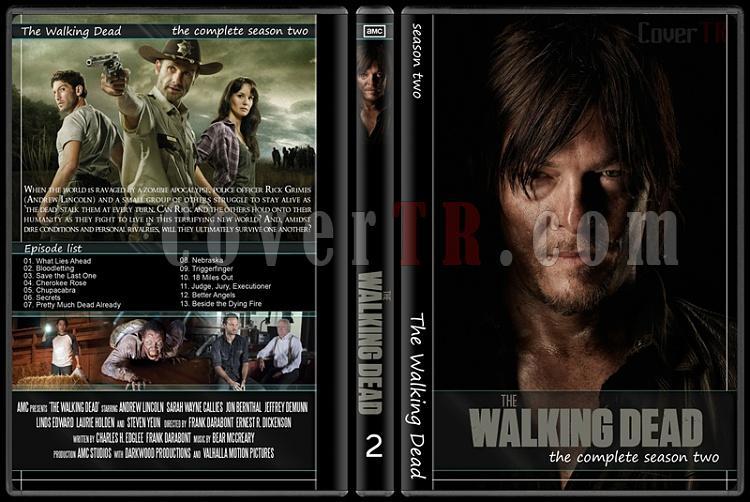 The Walking Dead (Seasons 1-5) - Custom Dvd Cover Set - English [2010-?]-2jpg
