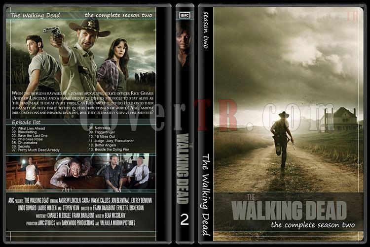 The Walking Dead (Seasons 1-5) - Custom Dvd Cover Set - English [2010-?]-21jpg