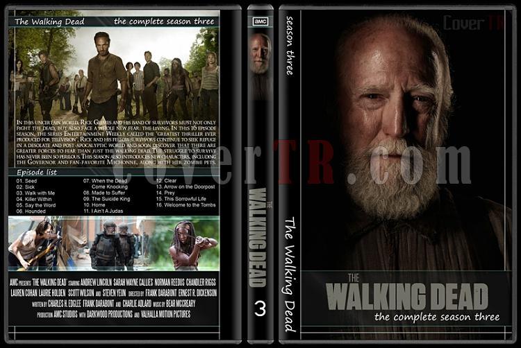 The Walking Dead (Seasons 1-5) - Custom Dvd Cover Set - English [2010-?]-3jpg