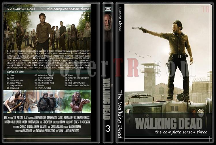 The Walking Dead (Seasons 1-5) - Custom Dvd Cover Set - English [2010-?]-31jpg