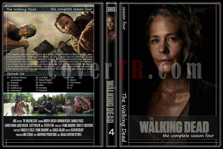 The Walking Dead (Seasons 1-5) - Custom Dvd Cover Set - English [2010-?]-4jpg