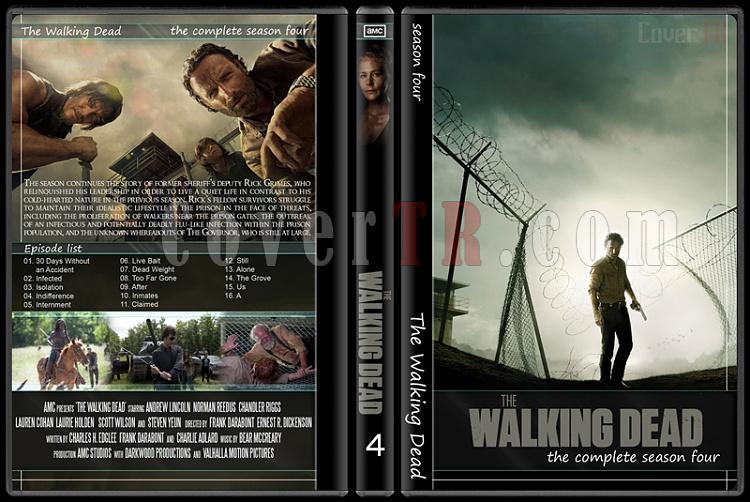 The Walking Dead (Seasons 1-5) - Custom Dvd Cover Set - English [2010-?]-41jpg