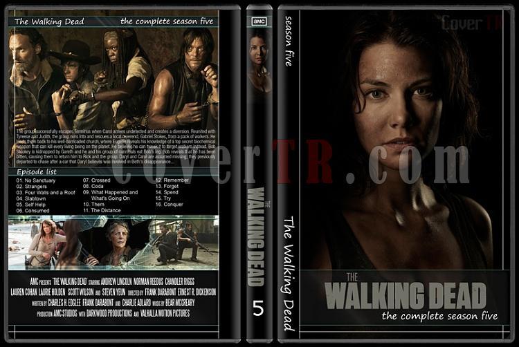 The Walking Dead (Seasons 1-5) - Custom Dvd Cover Set - English [2010-?]-5jpg
