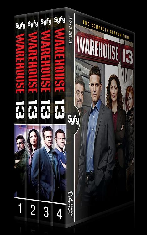 Warehouse 13 (Seasons 1-4) - Custom Dvd Cover Set - English [2009-?]-0jpg