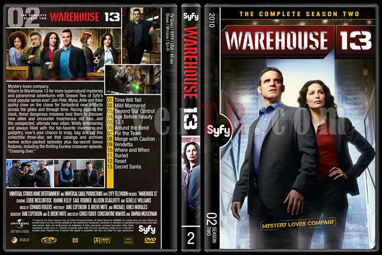 Warehouse 13 (Seasons 1-4) - Custom Dvd Cover Set - English [2009-?]-2jpg